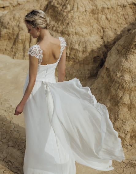 Robe de mariée Virginie, Atelier Anonyme