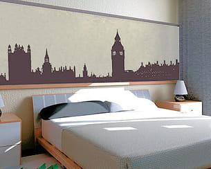 sticker 'london' de décoration maison