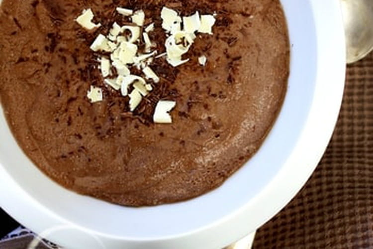 Mousse au chocolat exquise