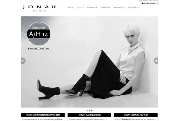 Le e-shop de Jonak
