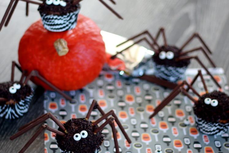 Muffin Halloween Araignée - Spider Muffin