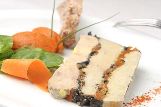 Pressé de foie gras en cabine La Première chez Air France