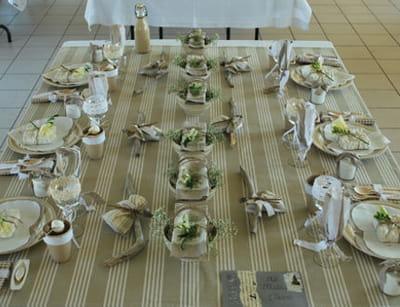 table 'toile à matelas'