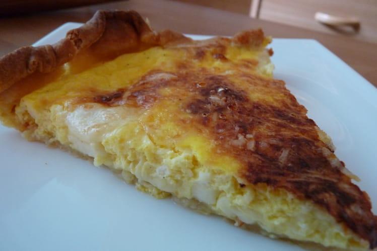 Quiche aux quatre fromages