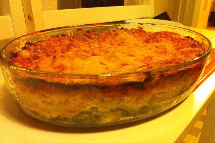 Recette de lasagnes pinard saumon ricotta la recette facile - Cuisiner saumon surgele ...