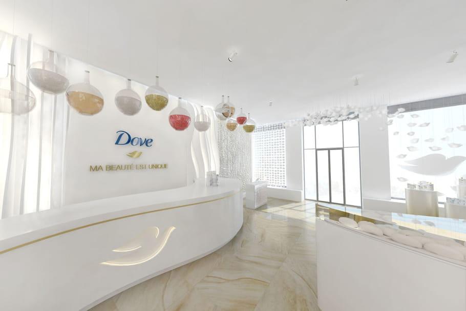 Dove ouvre sa boutique éphémère à Paris