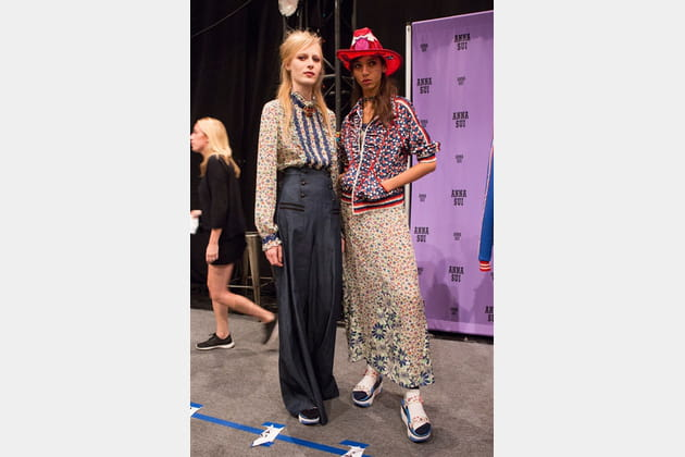 Anna Sui (Backstage) - photo 48