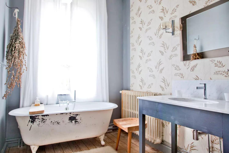 Salle de bains bleue: comment faire le plein de fraîcheur?