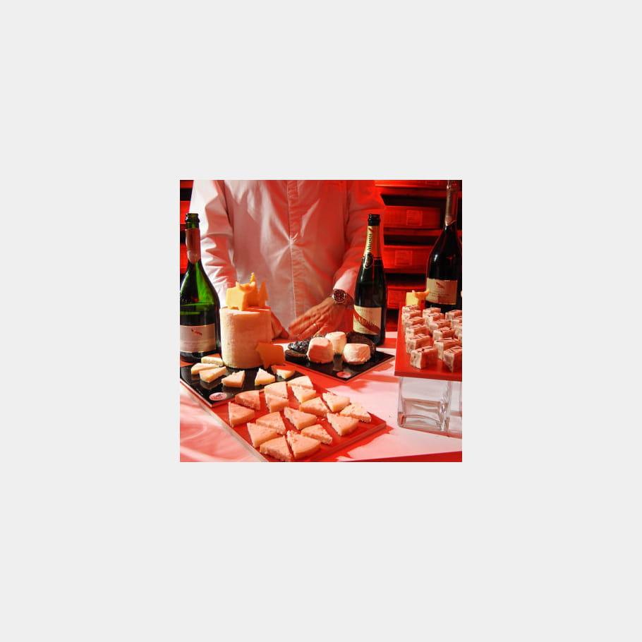 Le fromage : pétillant avec du champagne
