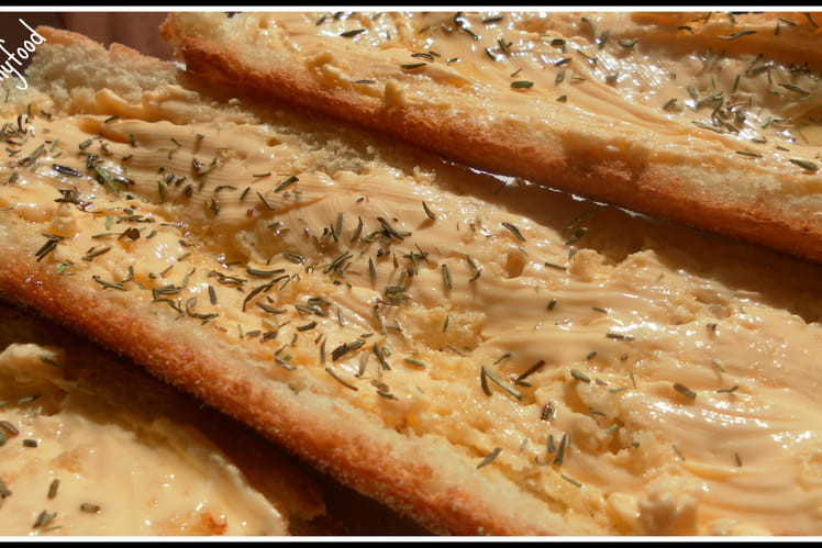 Bruschetta fromage-thym