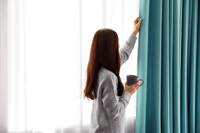 Comment bien laver des rideaux?