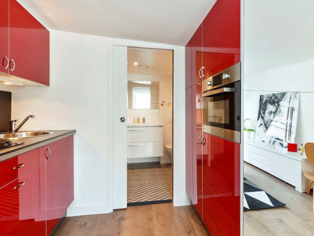 Une cuisine ouverte for Creer une cuisine ouverte