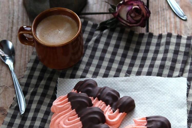 Meringue à l'orange et au chocolat