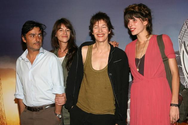 """En famille pour la première de """"Spider Man 3"""", en 2007"""