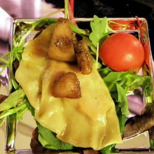 ravioles aux cèpes et au foie gras