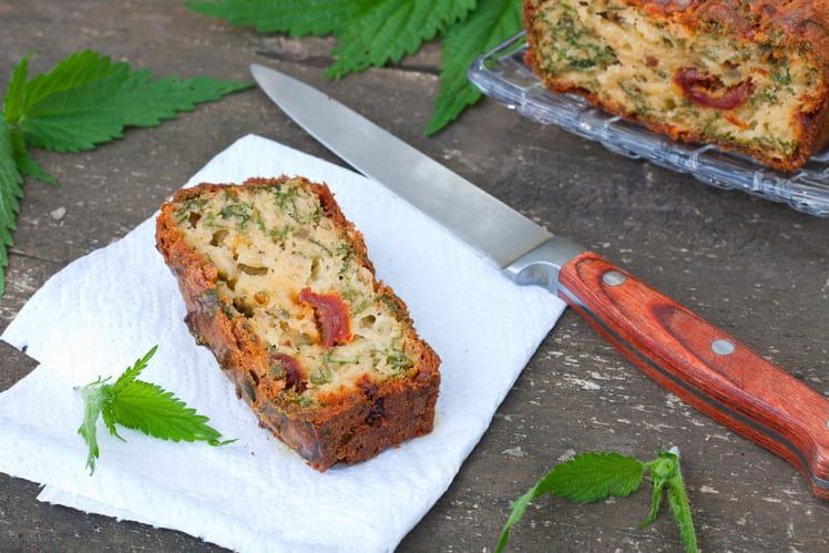 Cake aux tomates séchées et mozzarella
