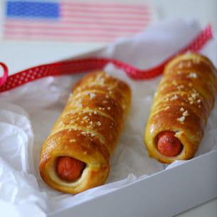 pretzel ou bretzel dog