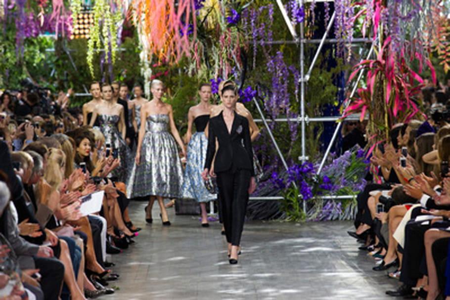 Fashion week : défilé Christian Dior prêt-à-porter printemps-été 2014