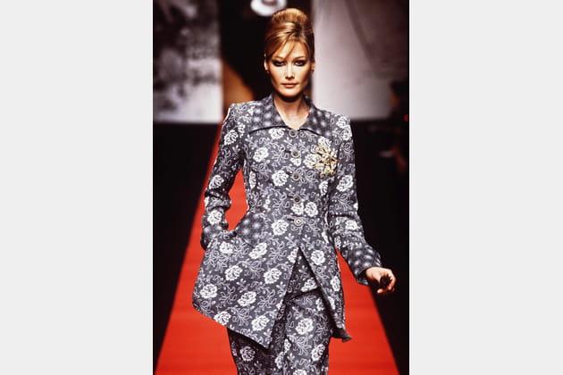 Carla Bruni en 1995