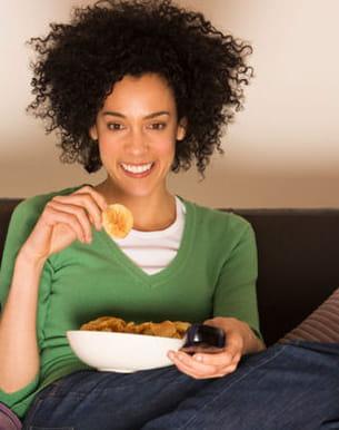 regarder un bon film peut vous aider à vous couper du monde.