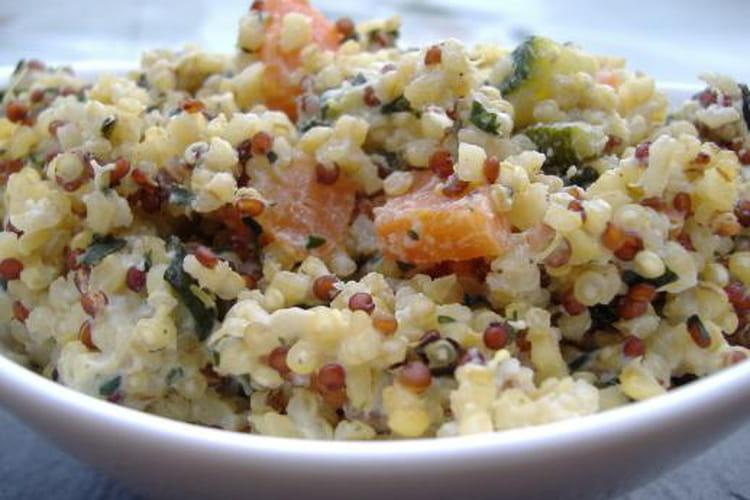 Risotto de quinoa crémeux à la ricotta