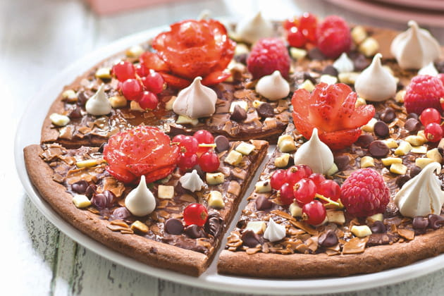 La pizza Dolce al Cioccolato de Dr.Oetker