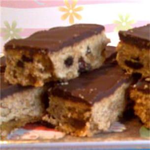flapjacks (biscuits aux flocons d'avoine).