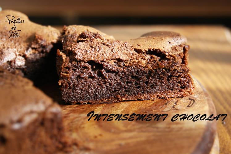 Gâteau intensément chocolat