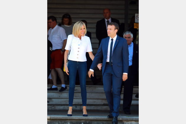Brigitte Macron le 11juin 2017
