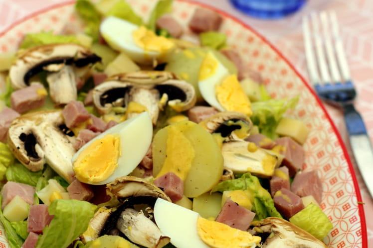 Salade parisienne aux pommes de terre