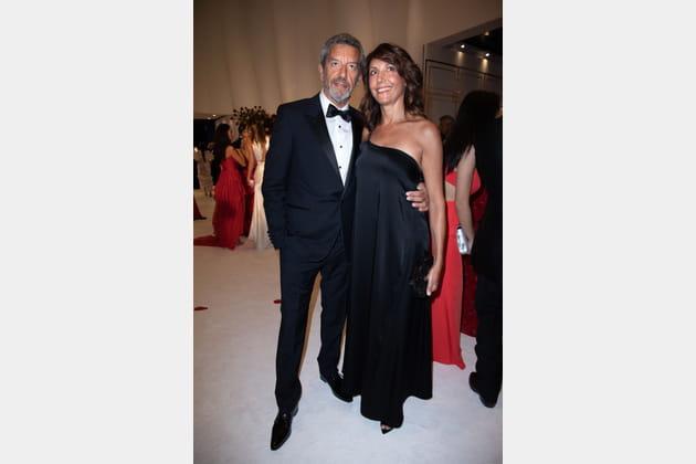Michel Cymes et sa femme, Nathalie