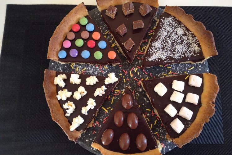 Tarte au chocolat et friandises