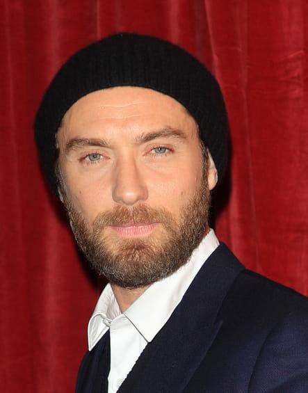 Jude Law avec une barbe