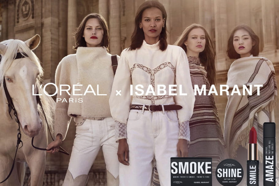 """L'Oréal Paris x Isabel Marant: la collection la plus """"Wanted"""" de la rentrée"""