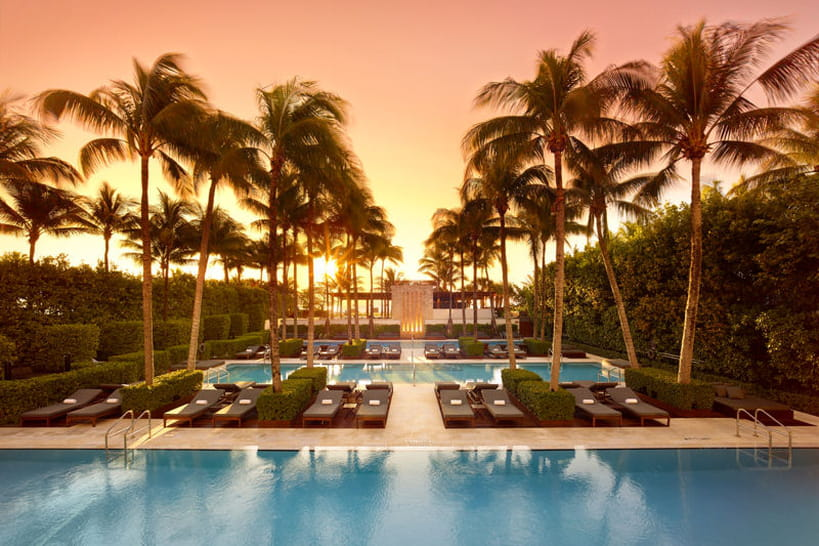 Hotel de luxe : The Setai Miami Beach