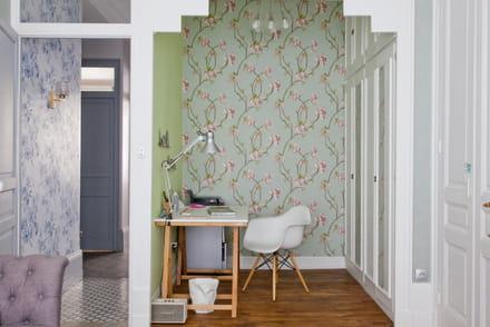 papier peint tapisserie conseils et id es pour habiller vos murs. Black Bedroom Furniture Sets. Home Design Ideas
