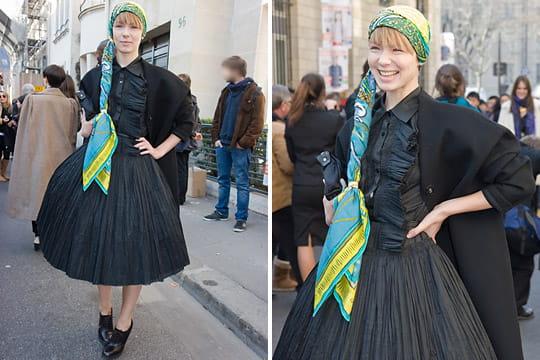 Fashion week : les street looks des défilés parisiens PAP automne-hiver 2011-2012 46