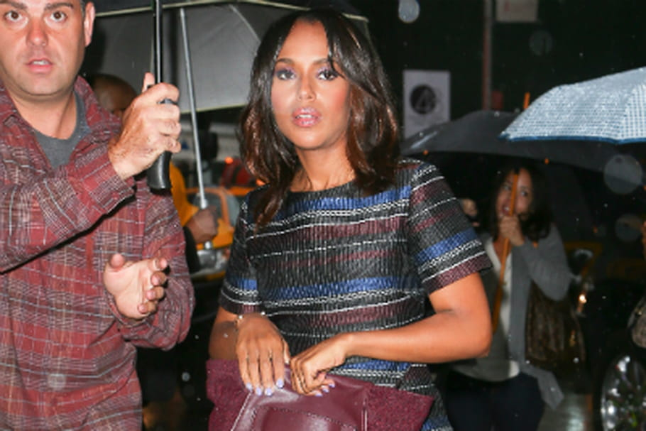 Le look people du jour : Kerry Washington, élégante