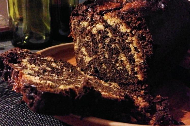Marbré chocolat miel
