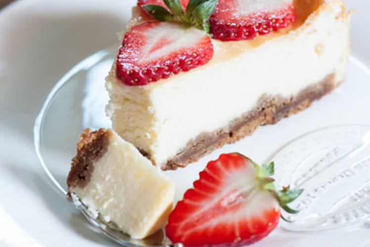 Cheesecake aux fraises, Saint Môret et spéculoos