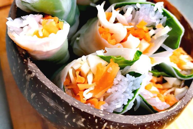 Spring rolls végétariens