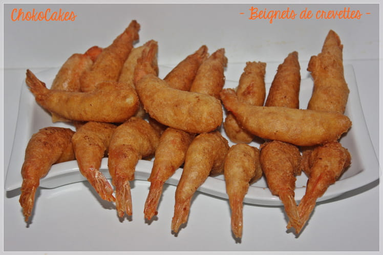 Beignets de crevettes express