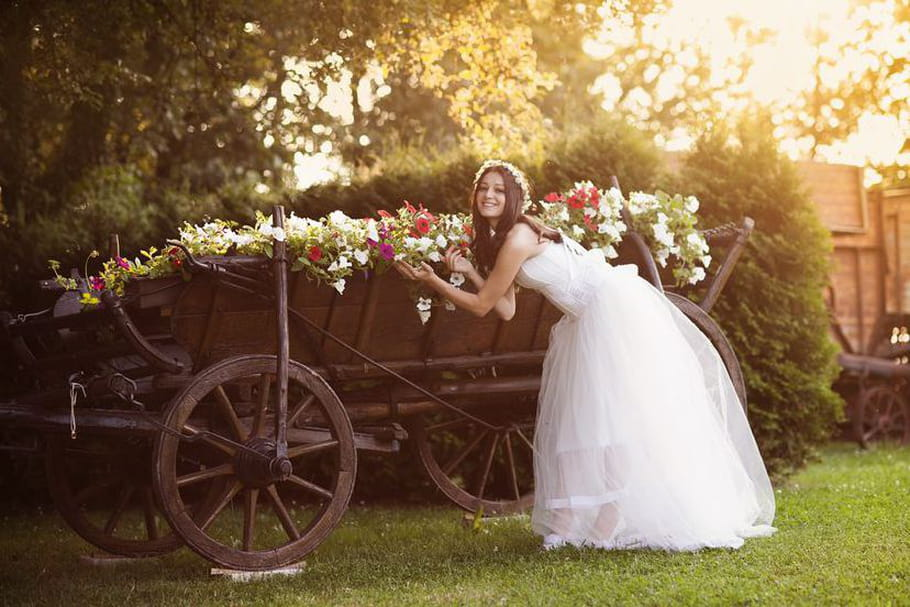 Organiser un mariage champêtre, en pleine nature