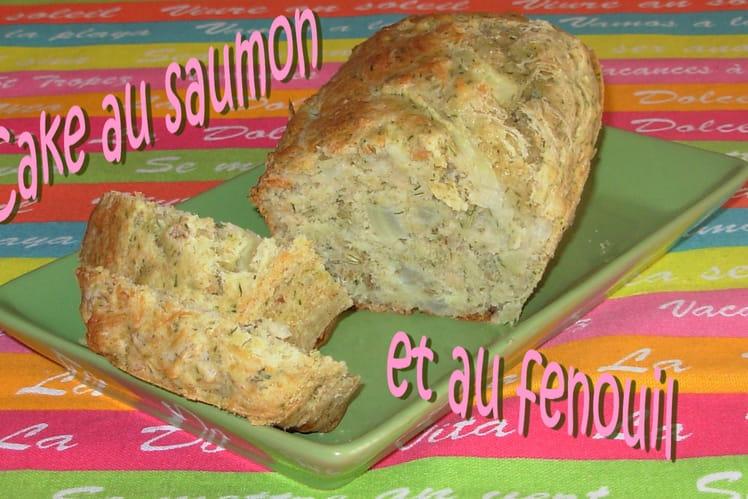 Cake au saumon et au fenouil