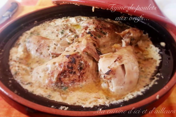 Tajine de poulet aux oeufs