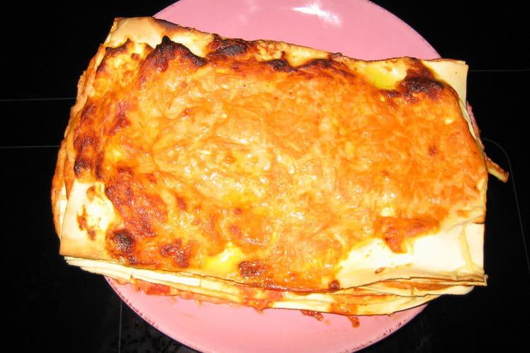 Lasagnes tomates-chèvre