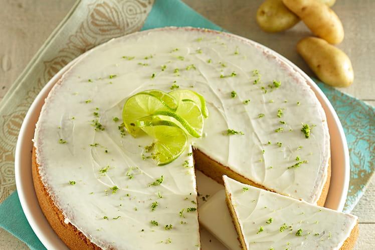 Gâteau de Ratte du Touquet aux amandes, sans gluten