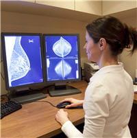 le dépistage organisé permet une double lecture des mammographies.