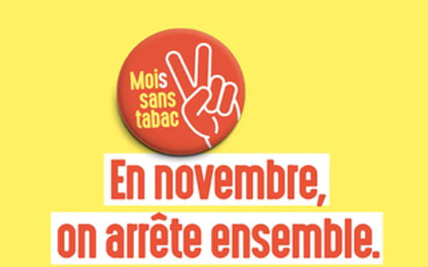 Mois Sans Tabac 2020 Logo affiche
