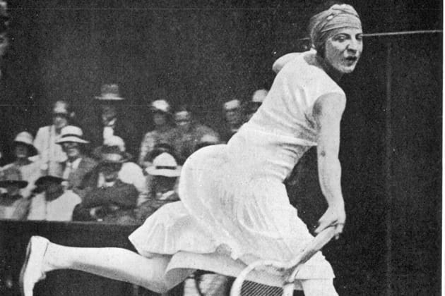 Tennis : Suzanne Lenglen